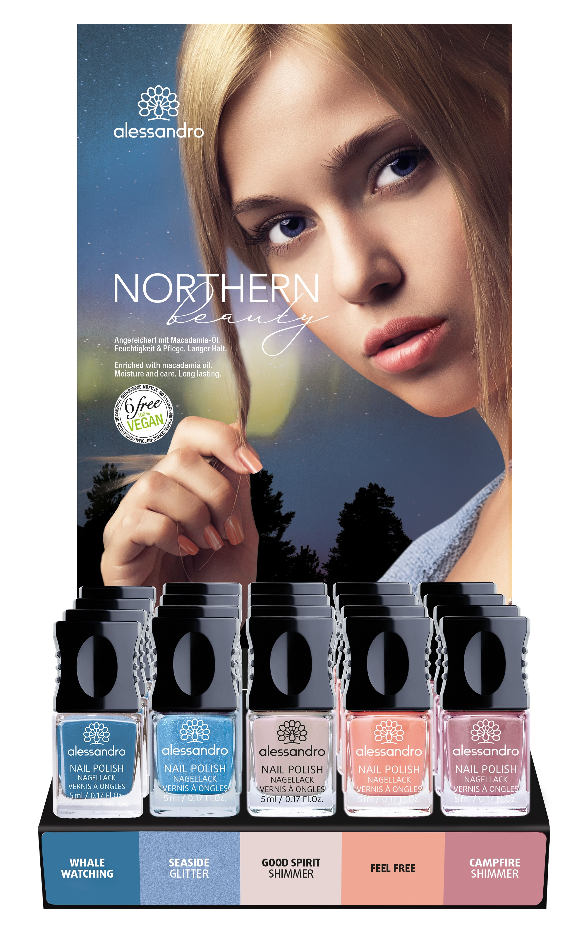 Image of Alessandro International Display Northern Beauty (5x4 Stück)